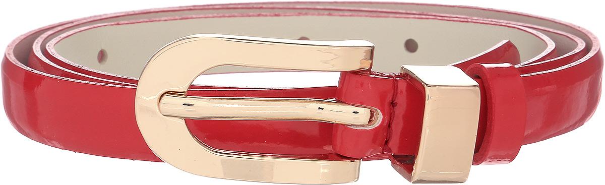 Ремень женский Vittorio Richi, цвет: красный. 1005-PT1022/z. Размер 1051005-PT1022/zРемень, выполненный из экокожи. Длина регулируется.