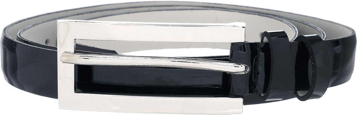 Ремень женский Vittorio Richi, цвет: черный. 1007-RZ1000/s. Размер 1051007-RZ1000/sРемень, выполненный из экокожи. Длина регулируется.