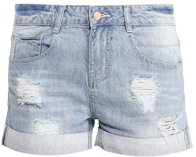 ШортыSHJ-135/608-7213Женские джинсовые шорты Sela, изготовленные из натурального хлопка с эффектом потертостей и разрывов, станут отличным дополнением гардероба в летний период. Короткие шорты прямого кроя и стандартной посадки на талии застегиваются на застежку-молнию и пуговицу. На поясе имеются шлевки для ремня. Модель с отворотами дополнена двумя втачными и накладным карманами спереди и двумя накладными карманами сзади.