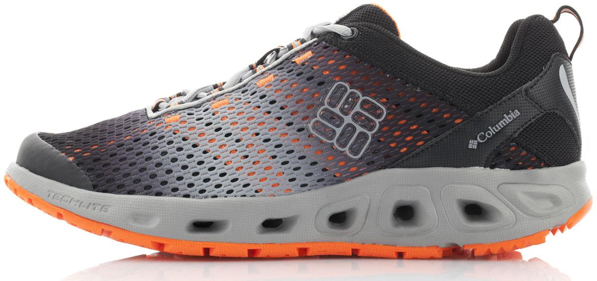 Кроссовки1670671-010Гибридные водные кроссовки для активного отдыха. Верх из быстросохнущей сетки. Дренажная подошва обеспечивает вентиляцию и отток воды. Промежуточная подошва Techlite амортизирует и поддерживает стопу. Подмётка Omni-Grip для хорошего сцепления на влажных поверхностях.