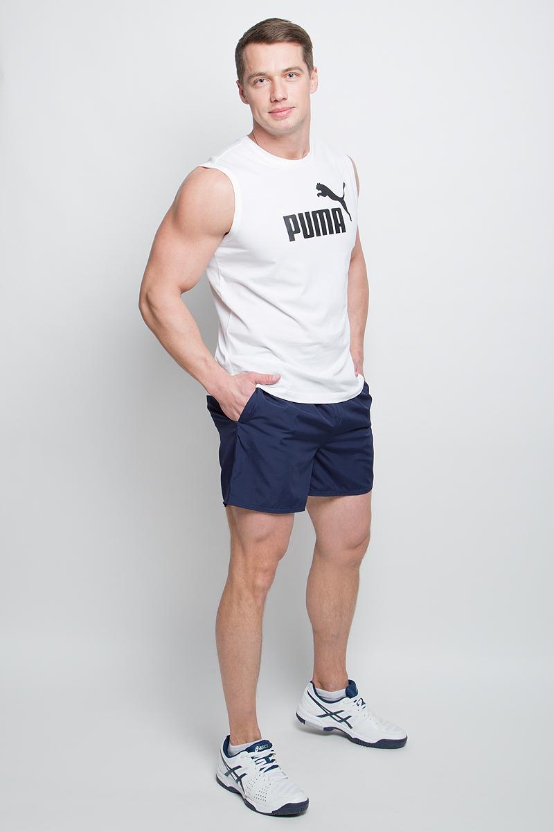 Шорты59066306Мужские шорты Style Summer Shorts выполнены из 100% полиэстера. Эластичный пояс с затягивающимся шнурком гарантирует комфортную посадку. Удобные боковые карманы позволяют взять необходимые мелочи с собой. Помимо карманов в боковых швах имеется также внутренний карман для мелочи и прорезной карман с обтачками сзади. Модель отлично смотрится на фигуре, дарит комфорт и свободу движений. Шорты декорированы логотипом PUMA на левой штанине. Имеют стандартную посадку.