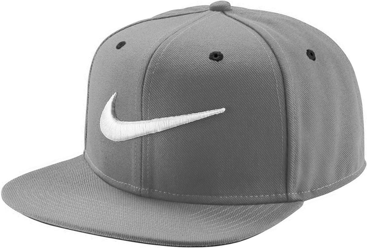 Бейсболка Nike Swoosh Pro, цвет: серый. 639534-014. Размер универсальный639534-014Бейсболка Swoosh Proот Nike выполнена из полиэстера. Модель имеет плотный козырек и оформлена эмблемой бренда.