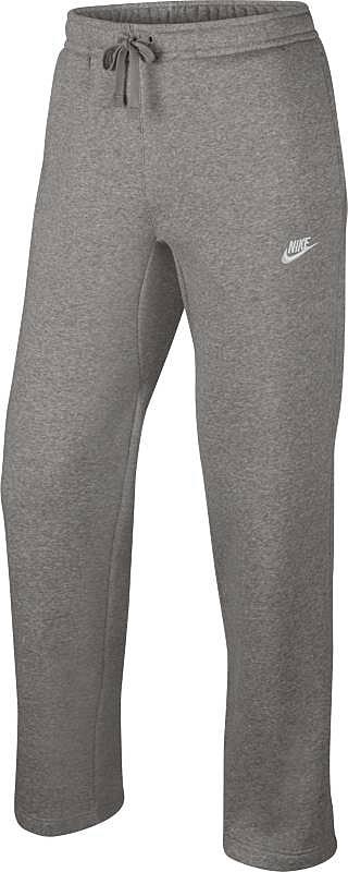 Брюки спортивные804395-063Брюки Nike M NSW Pant Oh Flc Club из хлопкового плотного трикотажа. Мягкий ворс с внутренней стороны, эластичный пояс, шнуровка, боковые карманы.
