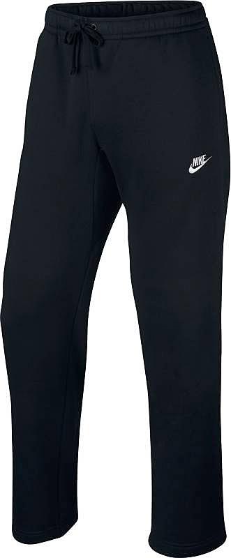 Брюки спортивные804395-010Брюки Nike M NSW Pant OH Flc Club из плотного текстиля с большим содержанием хлопка. Эластичная резинка на поясе, утягивающий шнурок, два кармана по бокам и один сзади.