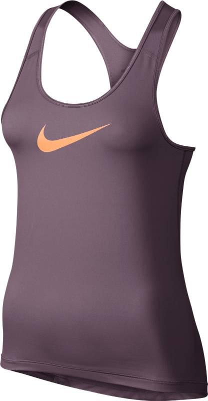 Майка725489-533Майка Nike Pro Cool. Свободный крой не сковывает движений, а вставка из сетки на спине обеспечивает охлаждение. Ткань Nike Pro Cool создает влагоотводящий базовый слой и дарит приятное ощущение прохлады.