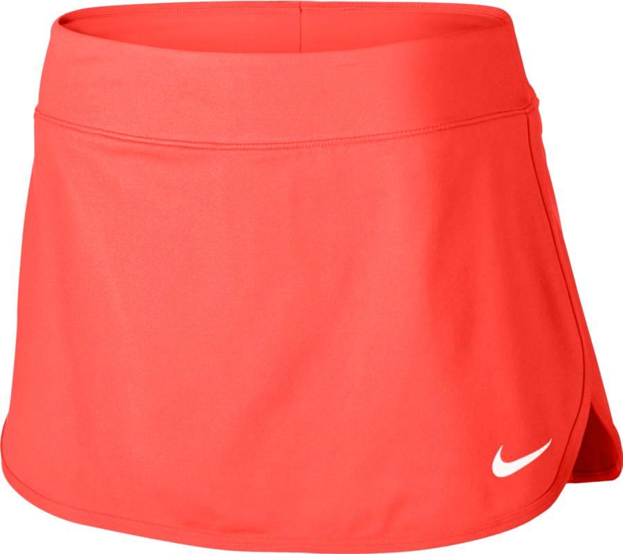 Юбка728777-300Юбка Nike W Nkct Pure. Технология Dri-FIT выводит влагу на поверхность, оставляя тело сухим. Внутренние шорты гарантируют легкую поддержку и позволяют удобно хранить мячи.