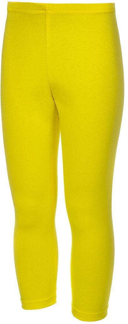 Бриджи для девочки M&D, цвет: желтый. БЖ10202. Размер 134БЖ10202Бриджи для девочки M&D выполнены из хлопка и лайкры. Модель на талии дополнена эластичной резинкой.