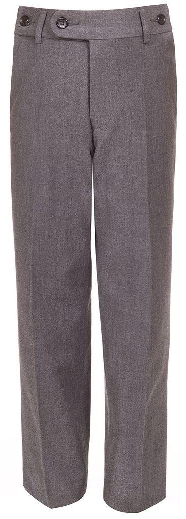 БрюкиCWJ17008A20Брюки для мальчика Nota Bene изготовлены из вискозы и полиэстера, благодаря чему они теплые и износоустойчивые. Модель исполнена в классическом стиле и подходит для ношения в школе в качестве школьной формы. Прямые брюки застегиваются на застежку-молнию и пуговицу на поясе.