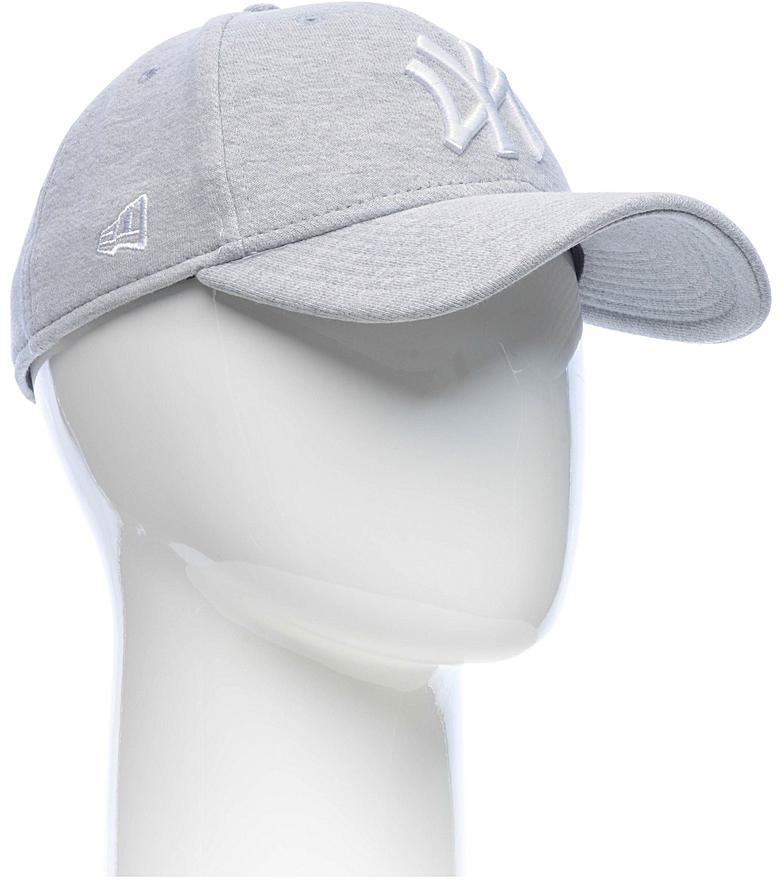Бейсболка New Era Jersey 9forty New York Yankees, цвет: серый. 11379820-GRW. Размер универсальный11379820-GRWСтильная бейсболка New Era, выполненная из высококачественного материала, идеально подойдет для прогулок, занятий спортом и отдыха.Изделие оформлено объемным вышитым логотипом знаменитой бейсбольной команды New York Yankees и логотипом бренда New Era.Бейсболка надежно защитит вас от солнца и ветра. Эта модель станет отличным аксессуаром и дополнит ваш повседневный образ.