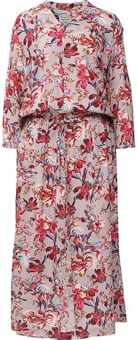 ПлатьеS17-11068_121Платье Finn Flare выполнено из вискозы. Модель с длинными рукавами оформлена цветочным принтом.