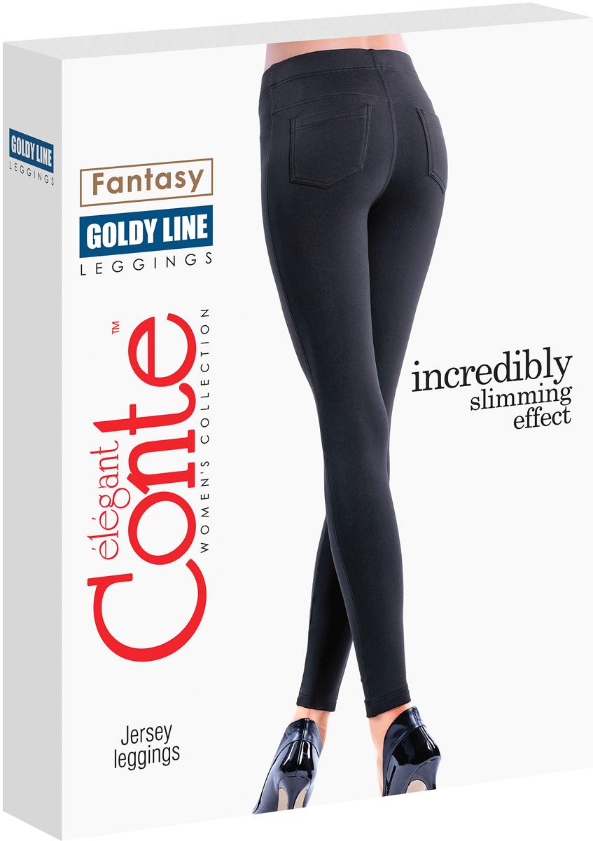 ЛеггинсыGoldy LineТонкие легинсы CONTE GOLDY LINE с моделирующим эффектом.