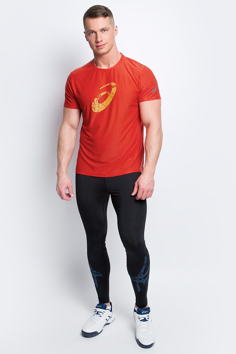 Футболка134085-0779Стильная мужская футболка для бега Asics Graphic SS Top, выполненная из высококачественного полиэстера с применением технологии Motion Dry, обладает высокой воздухопроницаемостью, а также превосходно отводит влагу от тела, оставляя кожу сухой даже во время интенсивных тренировок. Такая футболка великолепно подойдет как для повседневной носки, так и для спортивных занятий. Комфортные плоские швы исключают риск натирания и раздражения. Модель с короткими рукавами и круглым вырезом горловины - идеальный вариант для создания модного спортивного образа. Футболка оформлена крупным логотипом бренда на груди. Такая футболка идеально подойдет для занятий спортом, бега и фитнеса. В ней вы всегда будете чувствовать себя уверенно и комфортно.