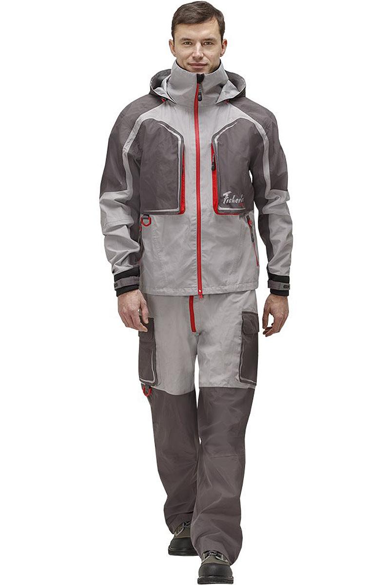 Куртка рыболовная95938-55Практичная и надежная куртка FisherMan Nova Tour выполнена специально для рыбалки. Куртка с воротником-стойкой и съемным капюшоном застегивается на пластиковую молнию. Изделие дополнено карманами. Такая куртка, пожалуй, лучшая защита от непогоды.
