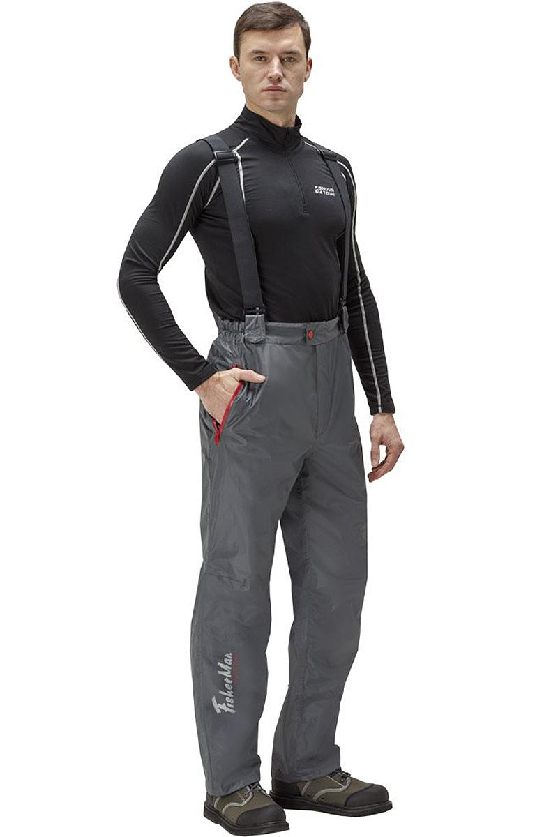 Штаны рыболовные95936-911Практичные и надежные брюки FisherMan Nova Tour выполнены специально для рыбалки из качественного полиэстера. Брюки с высокой посадкой застегиваются на молнию и пуговицу. На талии ткань собрана на внутренние резинки. Изделие дополнено карманами и эластичными лямками.