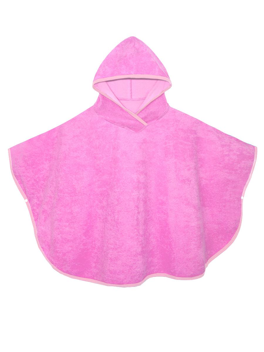 Халат для девочки КотМарКот, цвет: розовый. 2192. Размер 110-1282192Халат КотМарКот выполнен из натурального ворсистого хлопка. Модель оснащена капюшоном и застегивается по бокам с помощью металлических кнопок.