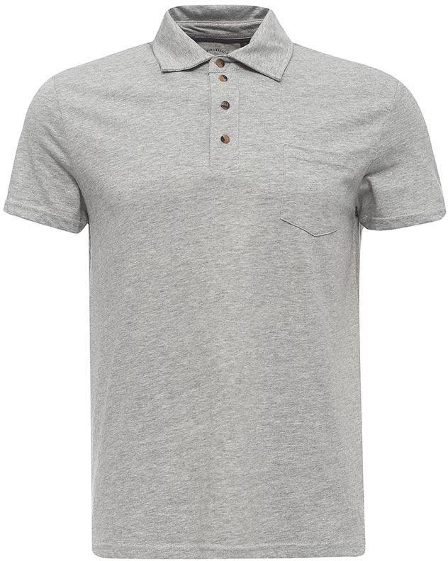 ПолоTsp-211/100-7213Стильная мужская футболка-поло Sela выполнена из качественного хлопкового материала и дополнена накладным карманом на груди. Модель полуприлегающего кроя с удлиненной спинкой и разрезами по бокам застегивается на пуговицы до середины груди. Универсальный цвет позволяет сочетать модель с любой одеждой.
