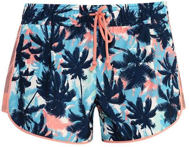 ШортыSH-115/824-7234Удобные женские шорты Sela отлично подойдут для отдыха или занятий спортом. Шорты прямого кроя выполнены из качественного легкого материала и оформлены ярким растительным принтом. Модель стандартной посадки на талии имеет пояс на мягкой резинке, дополнительно регулируемый шнурком. По бокам имеются сетчатые вставки.