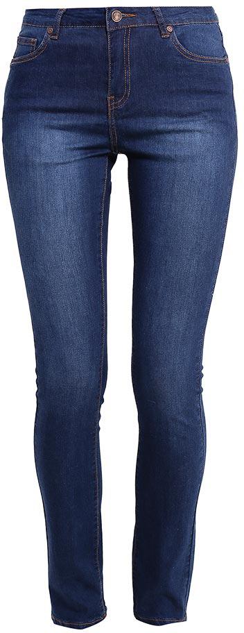 Джинсы женские Sela Denim, цвет: темно-синий джинс. PJ-135/594-7213. Размер 30-32 (46/48-32)PJ-135/594-7213Стильные джинсы Sela, изготовленные из качественного эластичного хлопка, станут отличным дополнением вашего гардероба. Джинсы зауженного кроя и завышенной посадки на талии застегиваются на застежку-молнию и пуговицу. На поясе имеются шлевки для ремня. Модель представляет собой классическую пятикарманку: два втачных и накладной карманы спереди и два накладных кармана сзади.