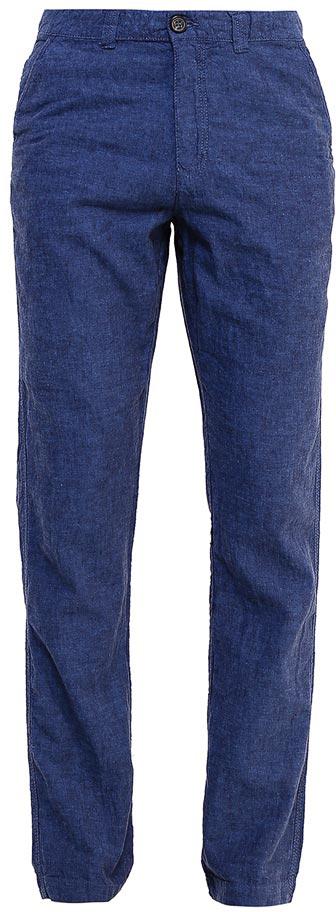 БрюкиP-215/530-7224Стильные мужские брюки Sela, изготовленные изо льна с добавлением хлопка, станут отличным дополнением гардероба. Брюки полуприлегающего кроя и стандартной посадки на талии застегиваются на застежку-молнию и пуговицу. На поясе имеются шлевки для ремня. Модель дополнена двумя втачными карманами спереди и двумя прорезными карманами на пуговицах сзади.