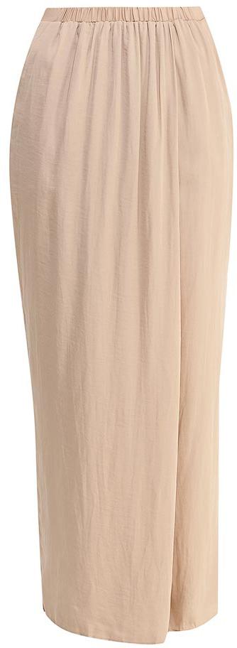 Брюки с запахом женские Sela, цвет: тепло-бежевый. P-115/830-7224. Размер 42P-115/830-7224Стильные брюки с запахом Sela, изготовленные из качественного легкого материала, станут отличным дополнением гардероба в летний период. Брюки свободного кроя и стандартной посадки на талии имеют широкий пояс на мягкой резинке и дополнены двумя втачными карманами.