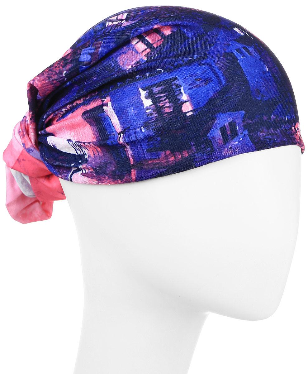 Повязка на головуPoY100253Повязка на голову из хлопка с полиэстером в яркой цветовой гамме. Размер универсальный. Различные варианты носки.