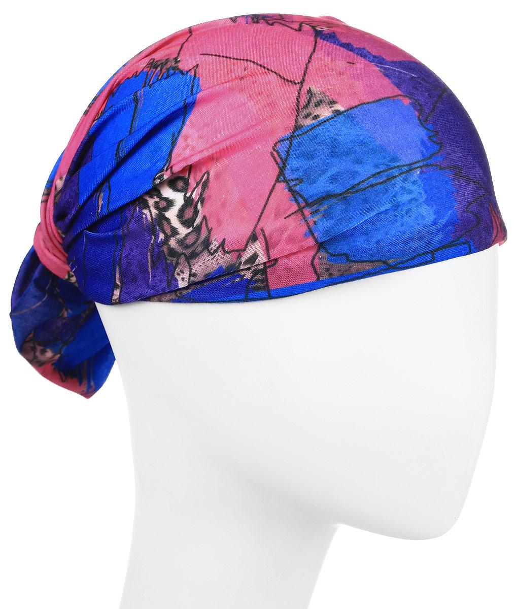 Повязка на головуPoY100223Повязка на голову из хлопка с полиэстером в яркой цветовой гамме. Размер универсальный. Различные варианты носки.