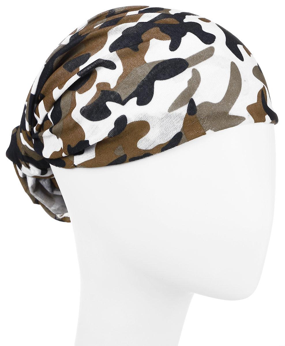 Повязка на головуPoY100221Повязка на голову из хлопка с полиэстером в яркой цветовой гамме. Размер универсальный. Различные варианты носки.