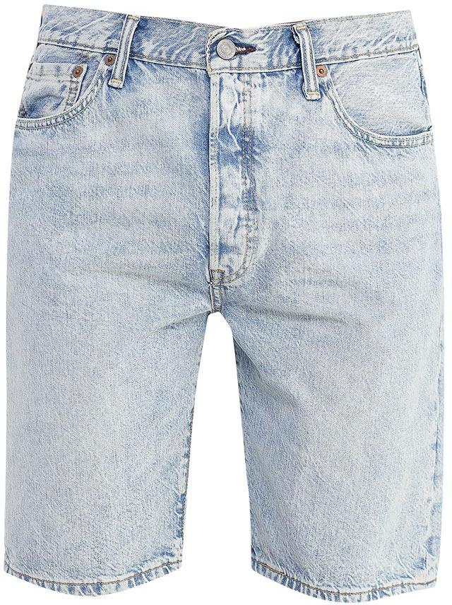 Шорты3651200440Джинсовые шорты. Стандартный крой в бедрах. Прямые штанины. Красивая контрастная отстрочка