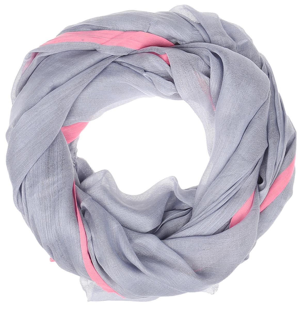Шарф Imojo, цвет: серый. SkY131002. Размер 180 см х 100 смSkY131002Яркий шарф, отличное дополнение к образу.