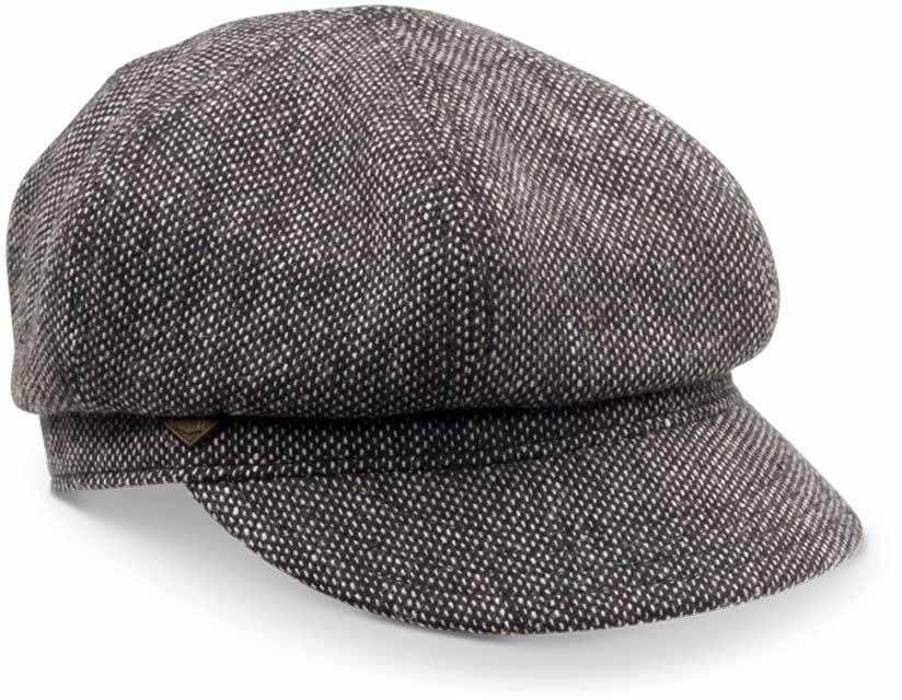 Кепка Goorin Brothers Paige, цвет: черный. 91-092-09-00. Размер универсальный91-092-09-00Paige - редкая кепка-картуз, созданная из мягчайшей шерсти. Удобная посадка, отточенный стиль сделают этот аксессуар лучшим дополнением к вашему осенне-зимнему гардеробу. Козырек имеет длину 4,5 см. Отлично сочетается с пальто или теплой паркой. Внутри имеется подкладка.