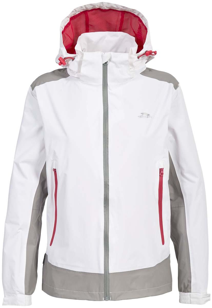 ВетровкаFAJKRAM10010Великолепная женская куртка из мембранного материала с показателями водонепроницаемости 5000мм, дышимости 5000г/м2/24ч для занятия спортом.