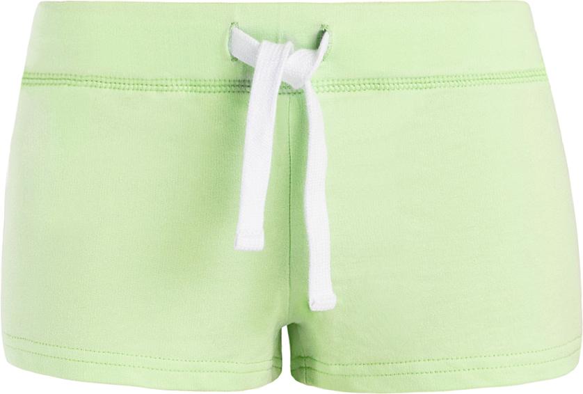 Шорты женские oodji Ultra, цвет: зеленый. 17001029-4B/46155/6A00N. Размер XXS (40)17001029-4B/46155/6A00NСтильные женские шорты oodji Ultra изготовлены из натурального хлопка.Шорты стандартной посадки имеют эластичный пояс на талии, дополненный шнурком.