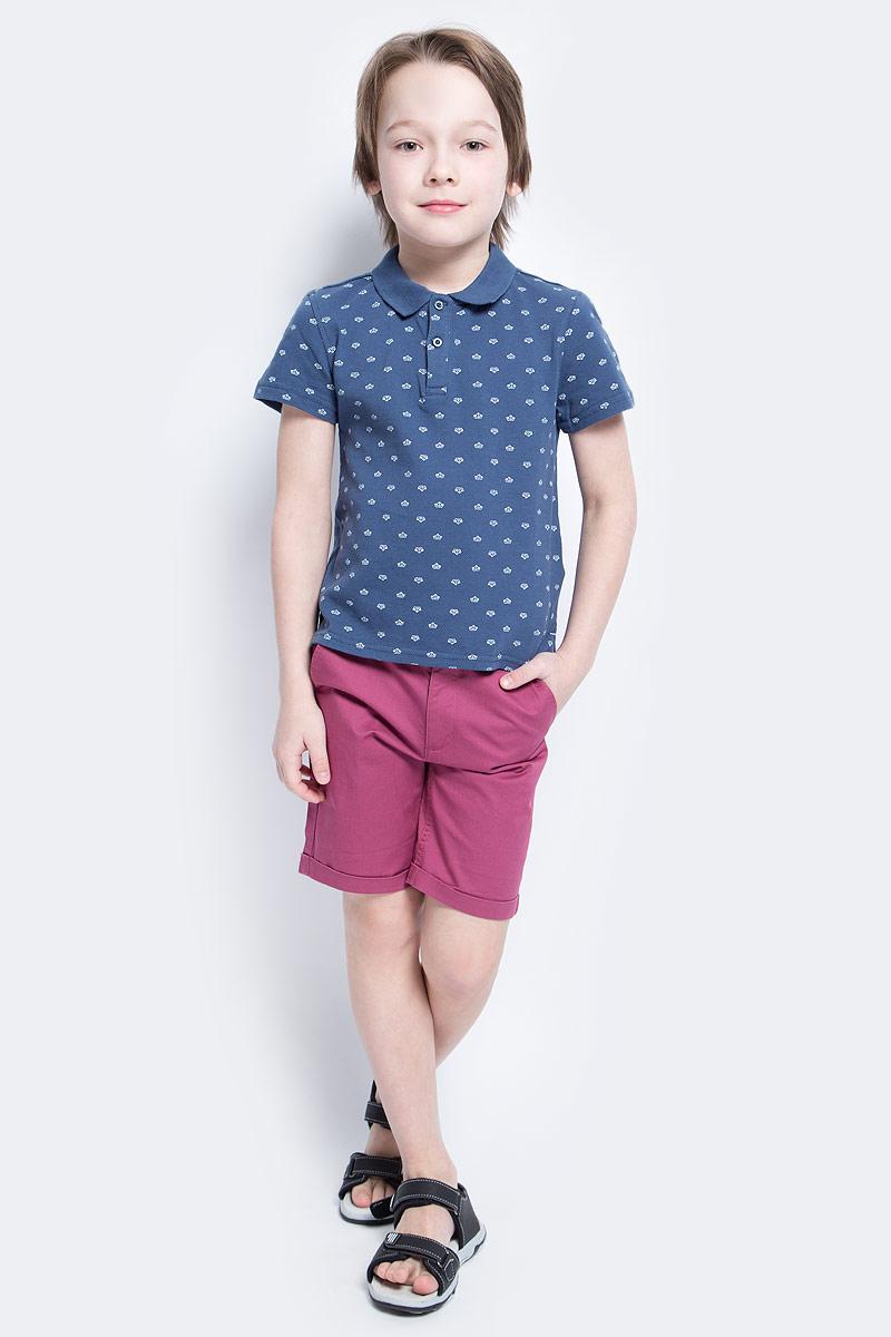 Поло117BBBC14010200Футболка-поло - изделие из разряда Must Have. Это не только базовая вещь в гардеробе ребенка, но и залог хорошего летнего настроения. Если вы решили купить недорогую футболку-поло для мальчика, выберете эту модель от Button Blue и ваш ребенок будет доволен.