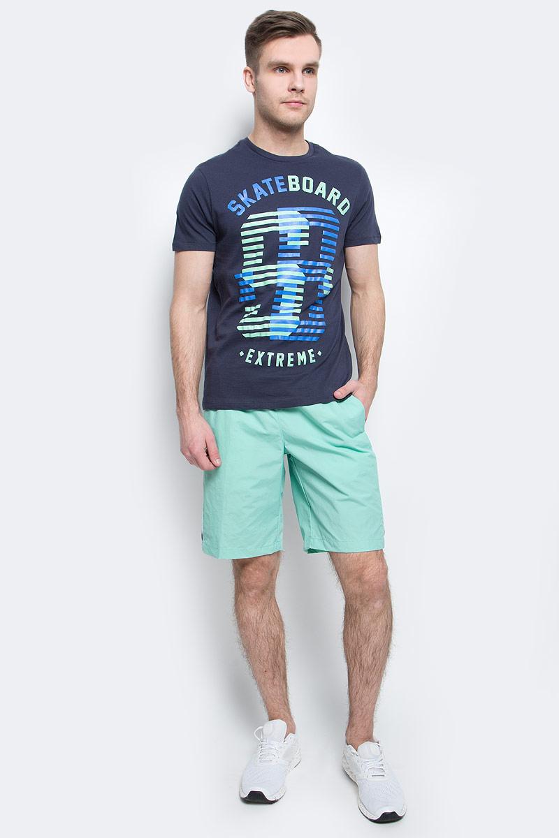 Шорты пляжные мужские Sela, цвет: пыльно-морской. SHsp-2415/004-7214. Размер L (50)SHsp-2415/004-7214Мужские пляжные шорты Sela, изготовленные из качественного материала с контрастными вставками, - идеальный вариант, как для купания, так и для отдыха на пляже. Модель прямого кроя с вшитыми сетчатыми трусами имеет широкий пояс на мягкой резинке. Изделие дополнено двумя прорезными карманами.Шорты быстро сохнут и сохраняют первоначальный вид и форму даже при длительном использовании.