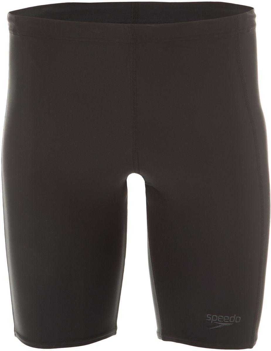 Плавки-шорты мужские Speedo Sports Logo Jammer, цвет: черный, серый. 8-09529A839-A839. Размер 36 (46/48)8-09529A839-A839Спортивные удлиненные плавки-шорты Speedo Sports Logo Jammer с контрастным лого принтом предназначены для тренировок в бассейне. Плавки имеют пояс на мягкой эластичной резинке и удобно садятся по фигуре, обеспечивая комфорт при любых видах активности в воде.Изделие выполнено с использованием технологии Endurance 10, благодаря чему используемый материал в 10 раз более устойчив к разрушающему воздействию хлора, чем обычные ткани с эластаном и спандексом.