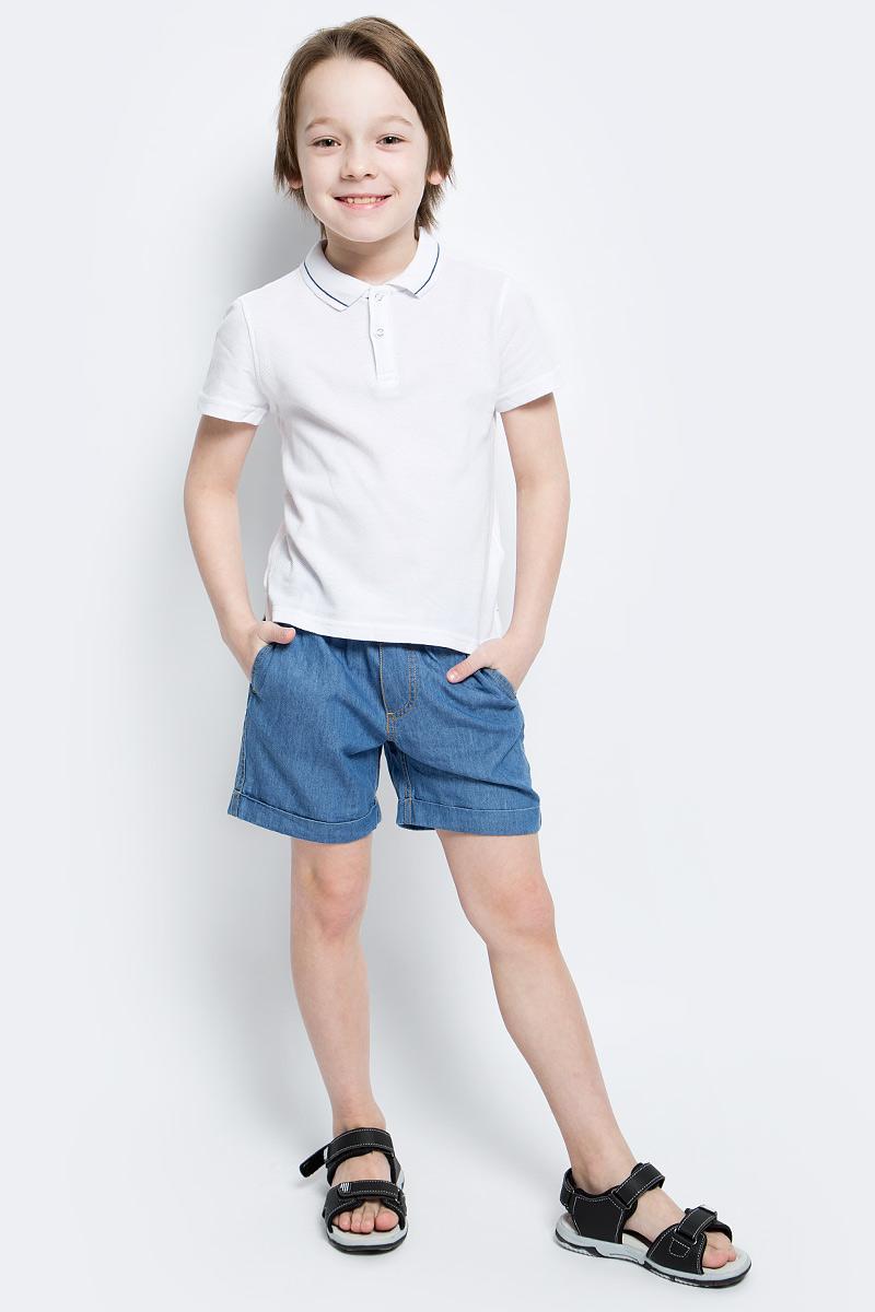 Шорты117BBBC6004D100Классные шорты из тонкой джинсы с поясом на резинке - прекрасное решение на каждый день жаркого лета. И дома, и в лагере, и на спортивной площадке эти шорты для мальчика обеспечат удобство, комфорт и соответствие модным трендам. Купить недорого детские шорты от Button Blue, значит, сделать каждый летний день ребенка радостным и беззаботным!