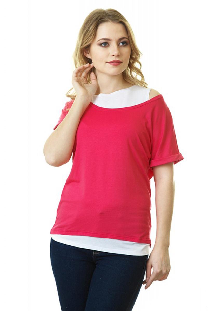 Блузка35589Блуза для беременных и кормящих исполнена из вискозы с добавлением лайкры, что делает изделие нежным к телу и эластичным. Отлично подойдет для жаркой погоды и теплых помещений. В ней удобно заниматься активными видами деятельности: прогулками с малышом, спортом, домашними делами, сверху имеется секрет для кормления. Дополненная стильными аксессуарами, она станет незаменимой деталью вашего гардероба. Дизайн блузки создает эффект 2 в 1.