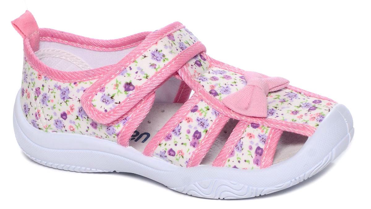 Туфли для девочки Mursu, цвет: розовый. 101228. Размер 30101228Туфельки Mursu выполнены из текстиля, оформленного оригинальными рисунками и декоративным бантиком. Удобная застежка-липучка обеспечивает практичность и комфортную фиксацию модели на ноге. Рифление на подошве гарантирует идеальное сцепление с любой поверхностью. Усиленный задник препятствует деформации задней части верха в процессе носки.