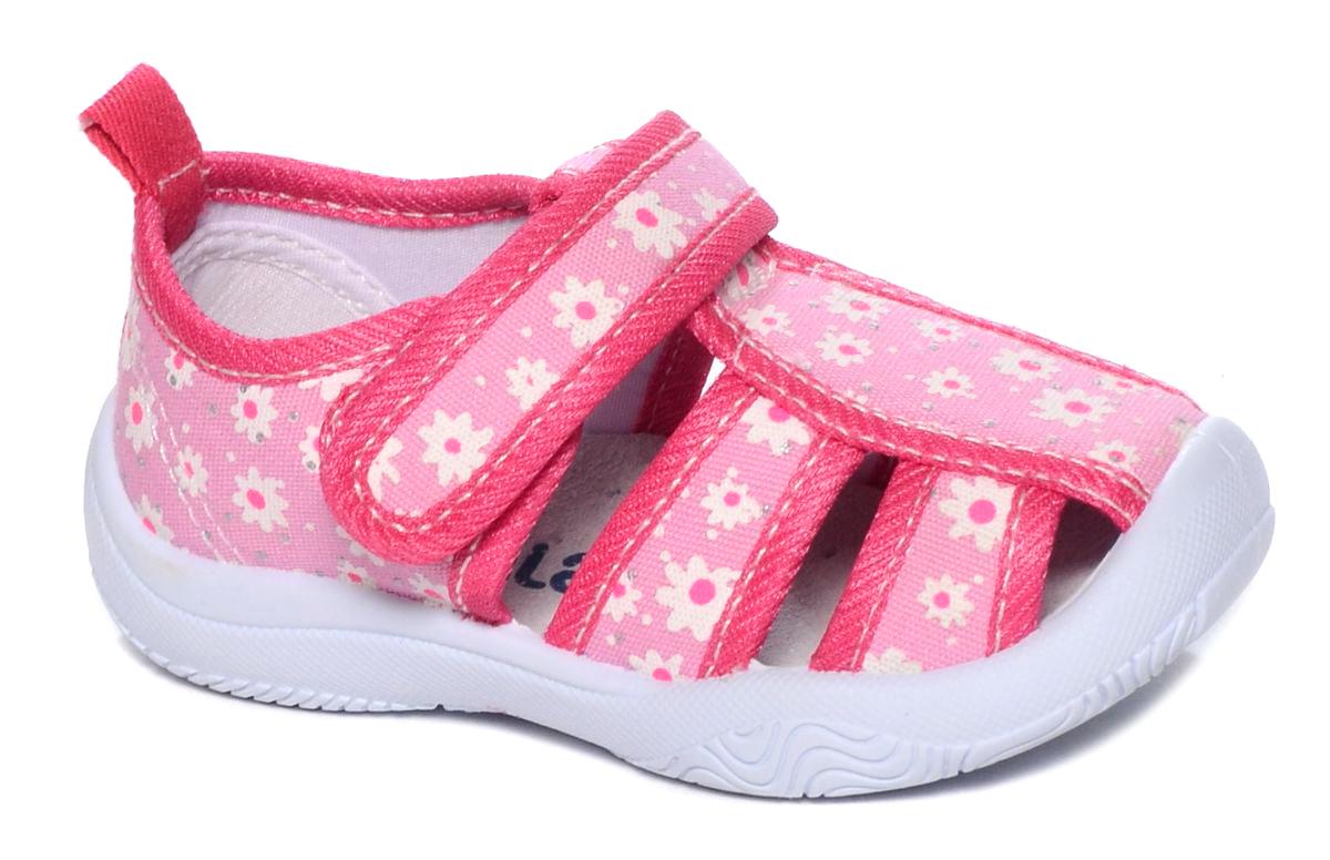 Туфли для девочки Mursu, цвет: фуксия. 101219. Размер 21101219Туфельки Mursu выполнены из текстиля, оформленного оригинальными рисунками. Удобная застежка-липучка обеспечивает практичность и комфортную фиксацию модели на ноге. Рифление на подошве гарантирует идеальное сцепление с любой поверхностью. Усиленный задник препятствует деформации задней части верха в процессе носки.