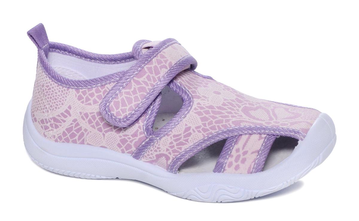 Туфли для девочки Mursu, цвет: светло-сиреневый. 101239. Размер 28101239Туфельки Mursu выполнены из текстиля, оформленного оригинальными рисунками. Удобная застежка-липучка обеспечивает практичность и комфортную фиксацию модели на ноге. Рифление на подошве гарантирует идеальное сцепление с любой поверхностью. Усиленный задник препятствует деформации задней части верха в процессе носки.