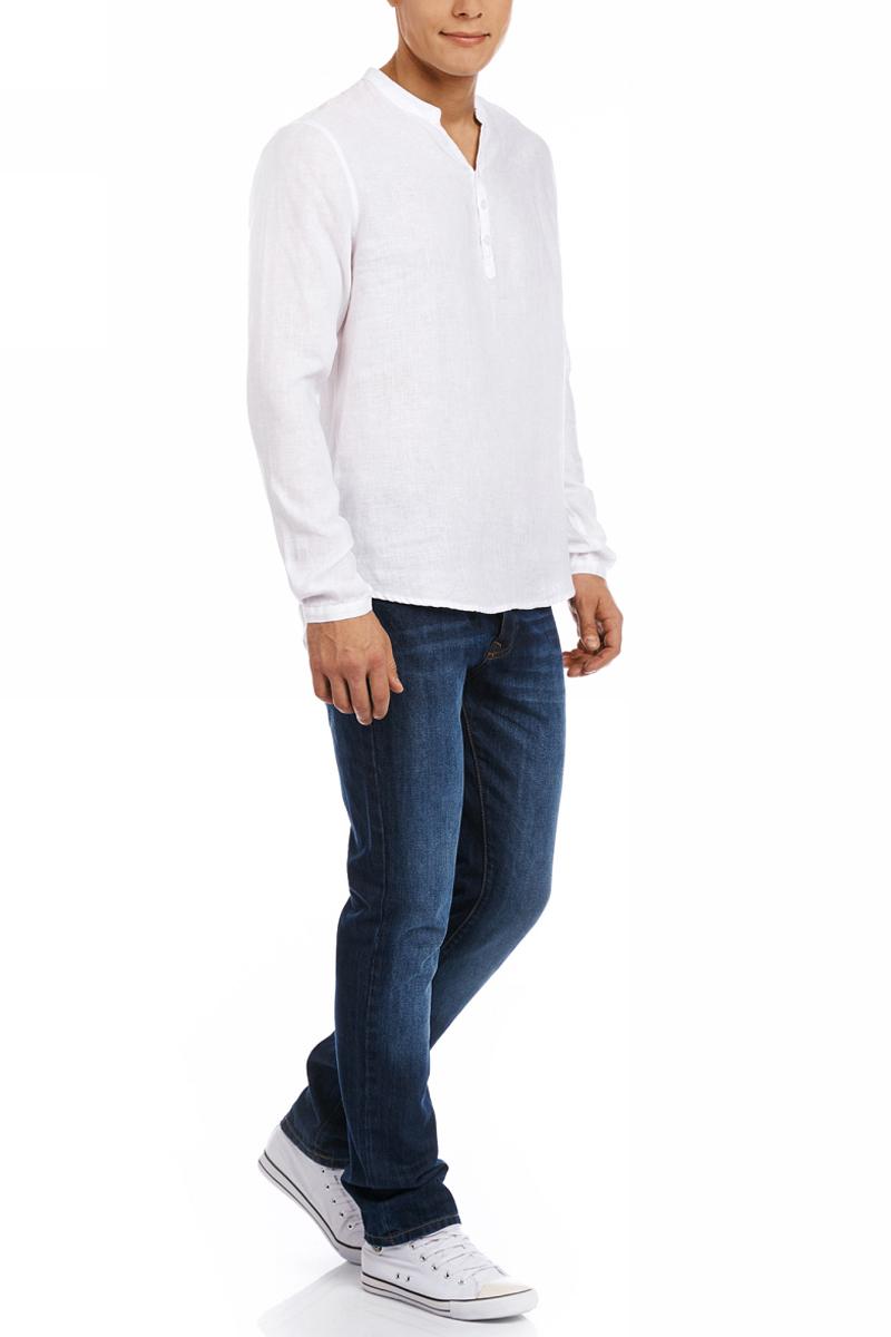 Рубашка3B320002M/21155N/7500NРубашка льняная без воротника