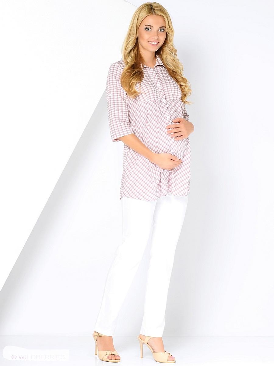 Блузка210225/1Стильная и очень удобная блузка для беременных из тонкой, вискозной ткани. Модель свободного кроя, складки от кокетки создают пространство для растущего животика, силуэт можно регулировать поясом. Передняя планка застегивается на пуговицы по всей длине. После беременности такая блузка поможет скрыть временные несовершенства фигуры, обеспечивая комфорти свободу движениям.
