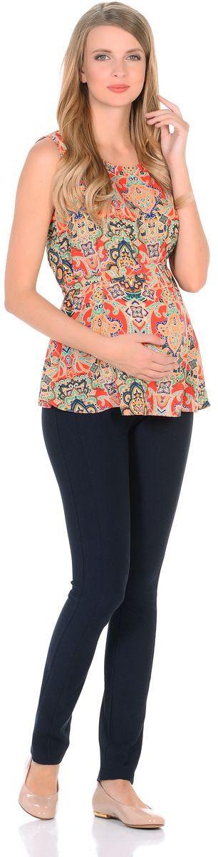 Блузка21303Женственная блузка для беременных легкая и воздушная модель из тонкого невесомого материала. Креативный рисунок на ткани невероятно украшает лаконичный фасон блузки. Трапециевидный крой предусматривает объем для животика в период беременности, а после рождения малыша поможет скрыть временные несовершенства фигуры. В тачным поясом можно регулировать силуэт. Насыщенная цветовая гамма в расцветке позволяет сочетать такую блузку со многими предметами гардероба, и создавать привлекательные яркие образы на каждый день.