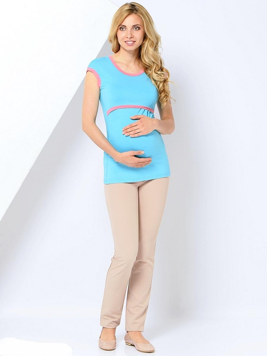 Брюки для беременных 40 недель, цвет: бежевый. 101194. Размер 50101194Классические зауженные брюки для беременных от бренда 40 недель выполнены из приятного к телу материала с высоким содержанием хлопка и вискозы. Модель дополнена двумя задними накладными карманами, трикотажной вставкой для животика с регулируемой резинкой в поясе. Спереди брюки оформлены декоративной прострочкой на карманах и пояске. Благодаря прекрасной посадке и продуманному дизайну брюки подойдут как на всем сроке беременности, так и после нее.