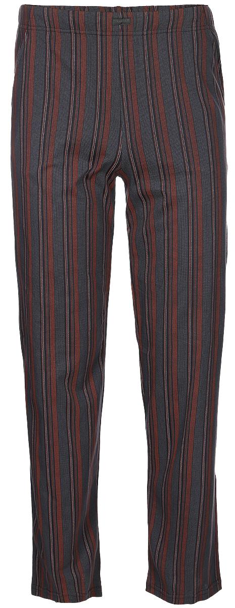 Брюки пижамные мужские Lowry, цвет: серый. MT-4. Размер 5XL (58)MT-4Мужские пижамные брюки Lowry, выполненные из натурального хлопка, легкие, приятные к телу, отлично пропускают воздух.Модель прямого кроя имеет на талии широкую резинку. Такие брюки станут идеальным дополнением к вашему гардеробу, в них вы будете чувствовать себя комфортно и уютно!