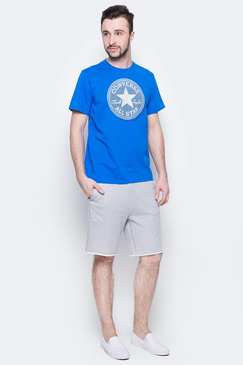 Шорты10003347022Трикотажные шорты Converse изготовлены из натурального хлопка. Модель с врезными карманами на завязках, сзади маленький карман для мелочи.