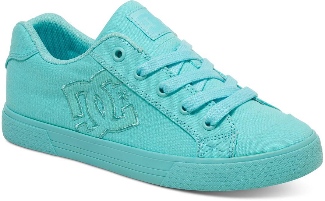 Кеды женские DC Shoes Chelsea Tx, цвет: бирюзовый. 303226-AQA. Размер 8,5B (40)303226-AQAКеды от DC Shoes выполнены из текстиля. Язычок оформлен фирменной нашивкой. Ярлычок на заднике облегчит надевание модели. На ноге модель фиксируется с помощью шнурков. Внутренняя поверхность выполнена из текстиля. Подошва изготовлена из высококачественной резины и дополнена протектором, который гарантирует отличное сцепление с любой поверхностью.