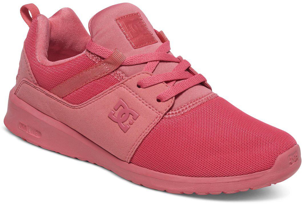 Кроссовки женские DC Shoes Heathrow, цвет: розовый. ADJS700021-DRT. Размер 8B (39)ADJS700021-DRTКроссовки от DC Shoes выполнены из текстиля. Язычок оформлен фирменной нашивкой. На ноге модель фиксируется с помощью шнурков. Внутренняя поверхность выполнена из текстиля. Подошва изготовлена из высококачественной резины и дополнена протектором, который гарантирует отличное сцепление с любой поверхностью.