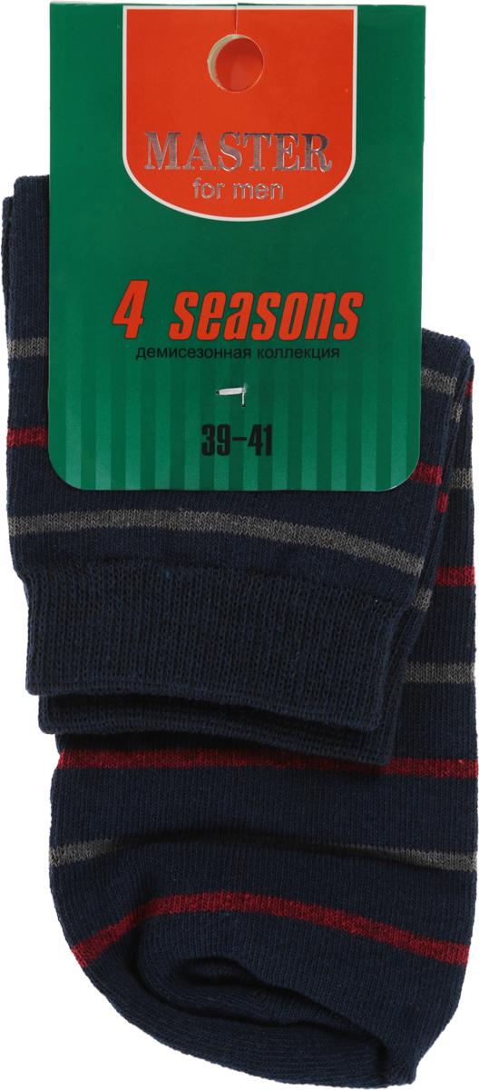 Носки58033Удобные носки Master Socks, изготовленные из высококачественного комбинированного материала, очень мягкие и приятные на ощупь, позволяют коже дышать. Эластичная резинка плотно облегает ногу, не сдавливая ее, обеспечивая комфорт и удобство. Носки с укороченным паголенком оформлены принтом в полоску. Удобные и комфортные носки великолепно подойдут к любой вашей обуви.