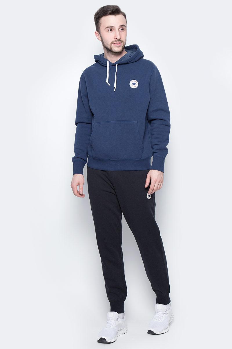Брюки спортивные мужские Converse Knitted Pant, цвет: черный. 10003124001. Размер XL (52)10003124001Спортивные брюки Converse изготовлены из качественного натурального хлопка Модель на широкой эластичной резинке с тремя удобными карманами. Низы брючин дополнены застежками-молниями. Такие брюки незаменимая вещь в спортивном и летнем гардеробе. Прекрасный выбор для занятий спортом или активного отдыха.
